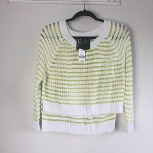 NWT LF Chandelier Cropped Pullover Sweater O/S